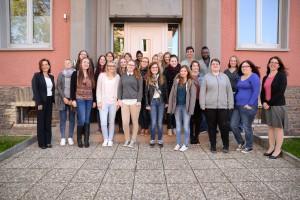 Der zweite Jahrgang des Studiums der Klinischen Pflege - Foto: Pressestelle Uni Trier
