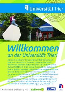 Willkommensplakat_Uni-Trier
